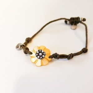 AE Floral Rope Bracelet